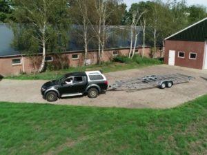 Tiny House Anhänger abholen