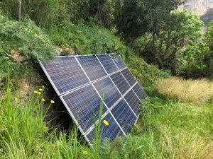 Tiny House Versorgung Solarpanel