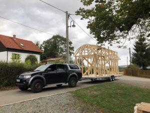 Tiny House Transport nach Leipzig